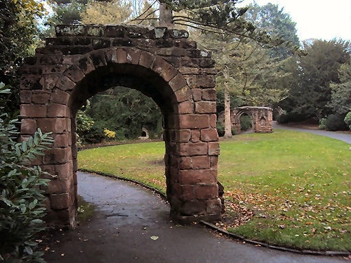 Dog walking routes in Malpas or Cheshire - Grosvenor Park